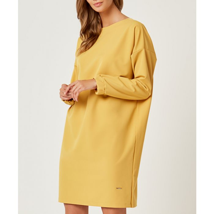 Image for Honey long sleeve shift dress