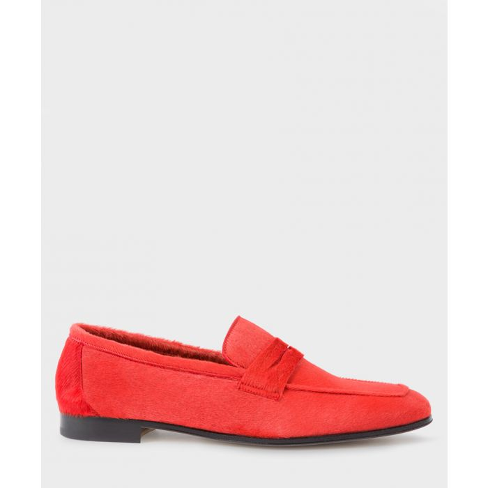 Image for Coral red loafers