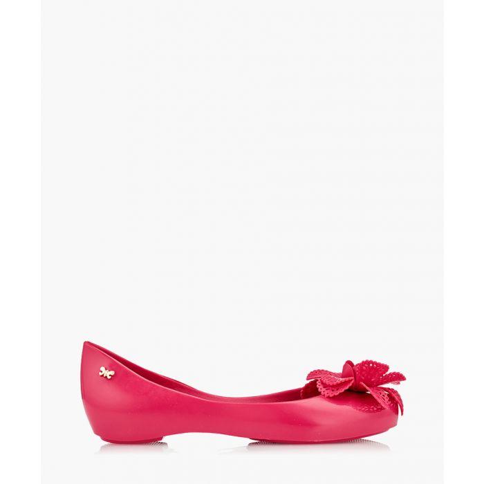 Image for Girl's Pop Garden pink ballet flats