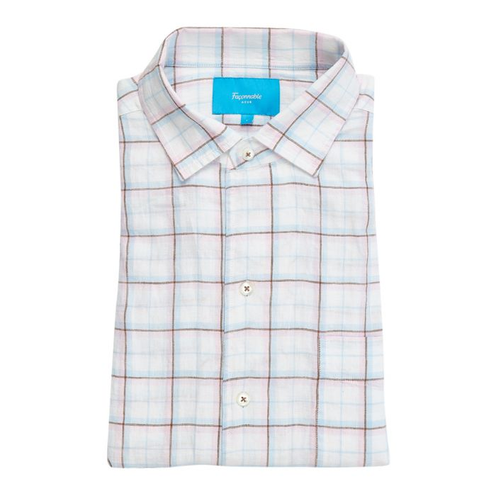 Image for Club multi-coloured checked shirt