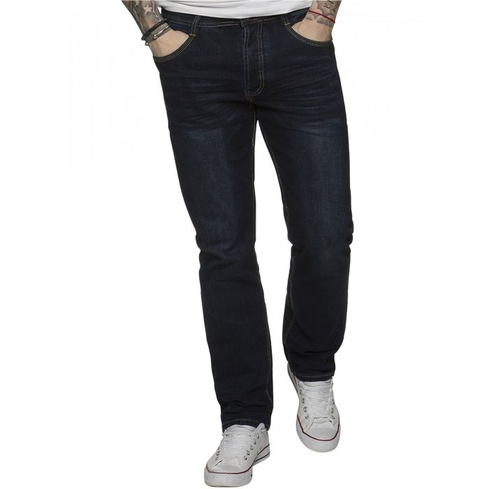 Image for ETO | Mens Designer Tapered Fit Stretch Denim Jeans