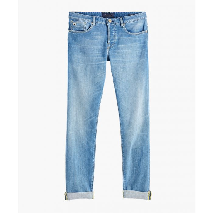 Image for Lucky blauw light blue cotton jeans
