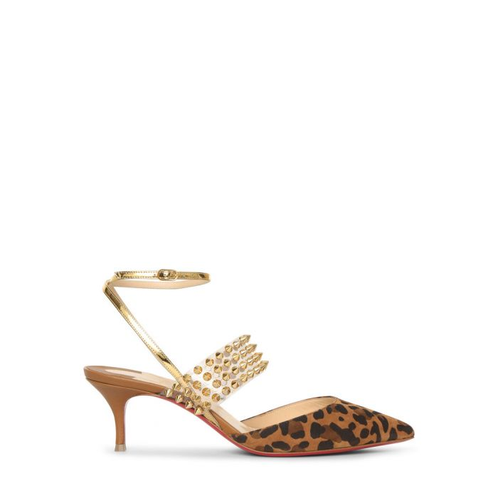 Image for Levita multi-coloured leopard heels