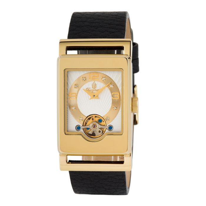 Image for Delft gold-tone case watch