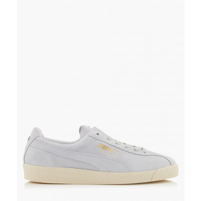 Image for Te-Ku white lace-up trainers
