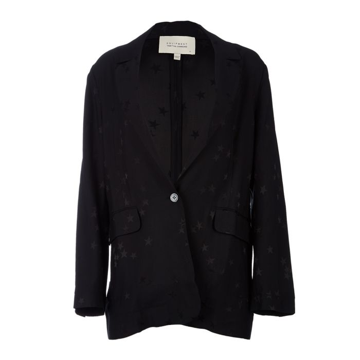Image for Hampton black scatter blazer