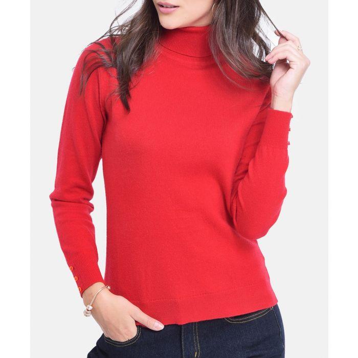 Image for Hermes cashmere blend roll neck jumper