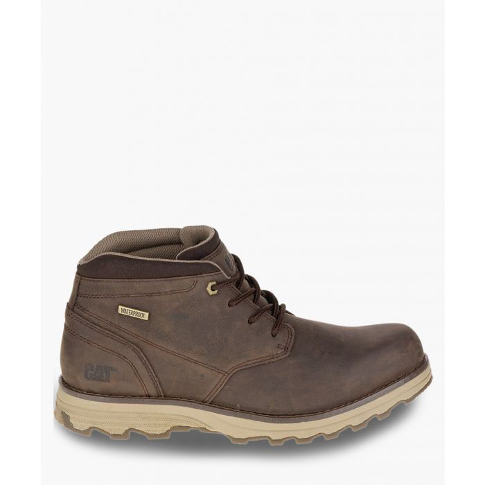 Image for Elude brown leather waterproof boots