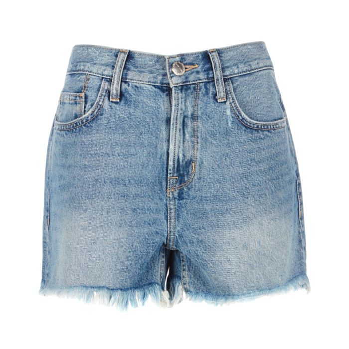 Image for The 'His' cut-off blue shorts