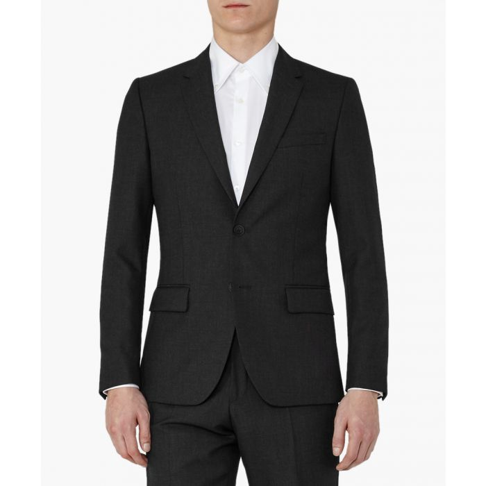 Image for Farrow charcoal wool blazer