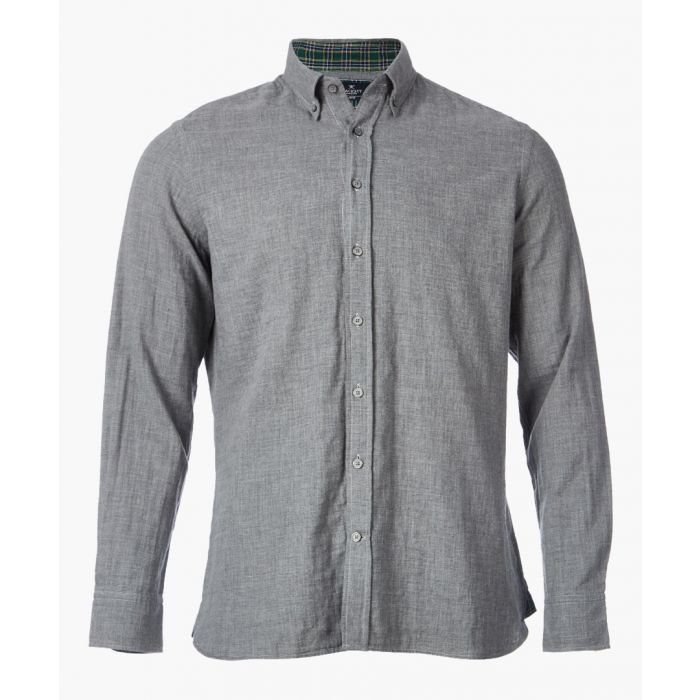 Image for Grey button-up shirt