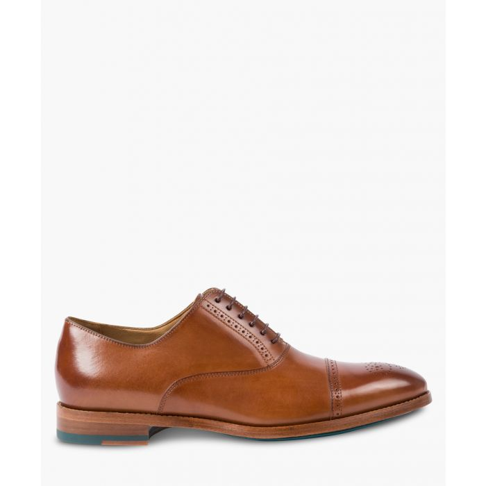 Image for Tan leather formal shoes