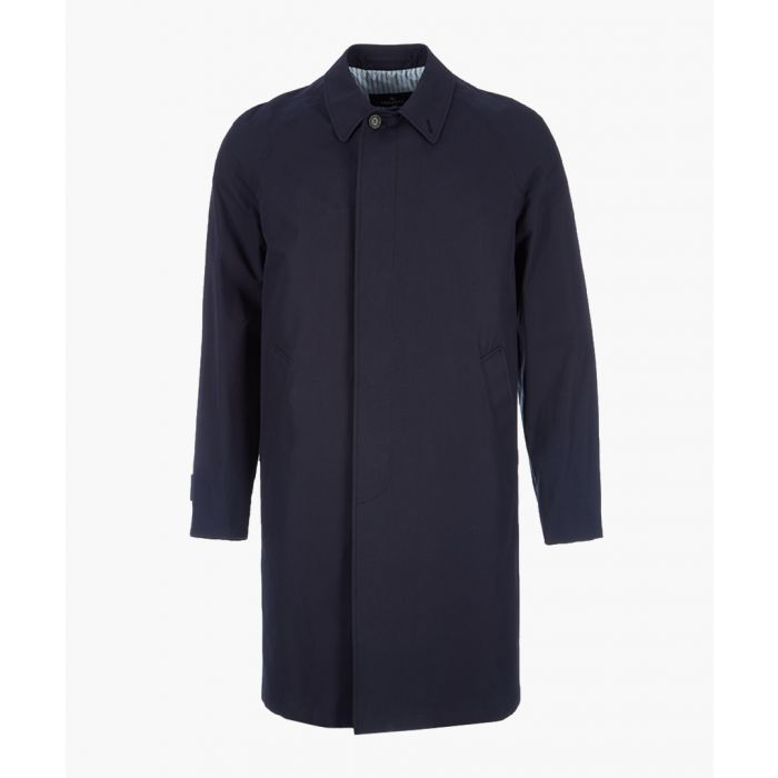 Image for Made In London navy pure cotton mac