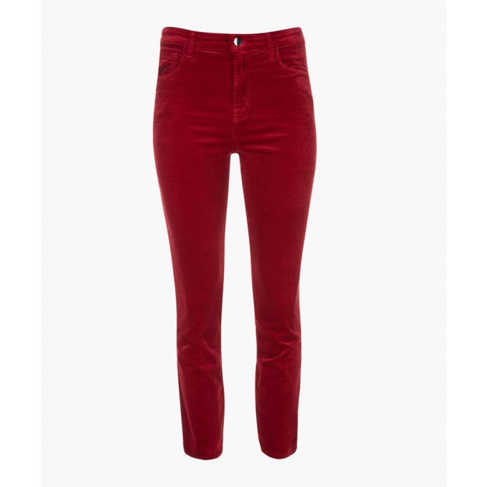 Image for Ruby cherry cigarette crop jeans