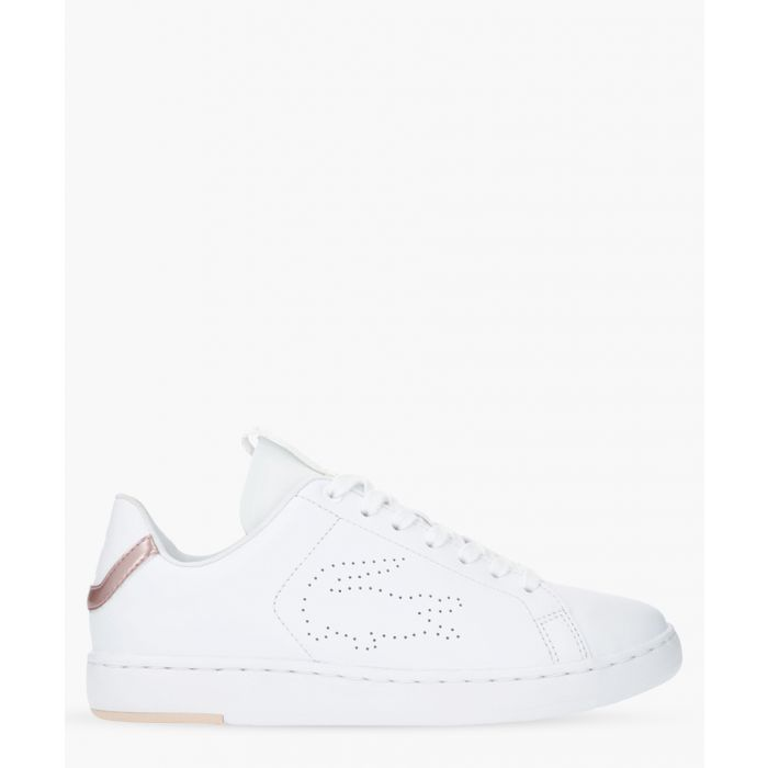 Image for Carnaby evo light white leather trainers
