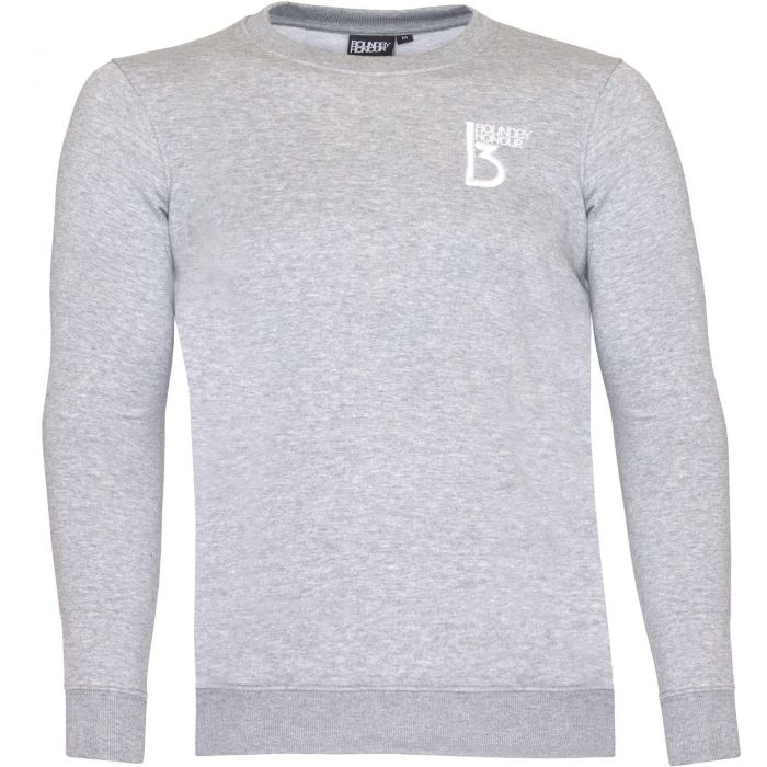 Image for Grey crew neck casual sweatshirt