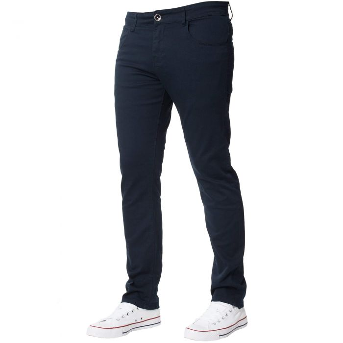Image for Men's Navy Slim Fit Chinos