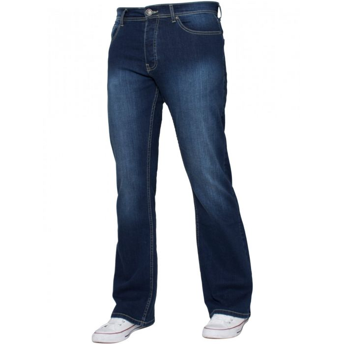 Image for Blue bootcut jeans