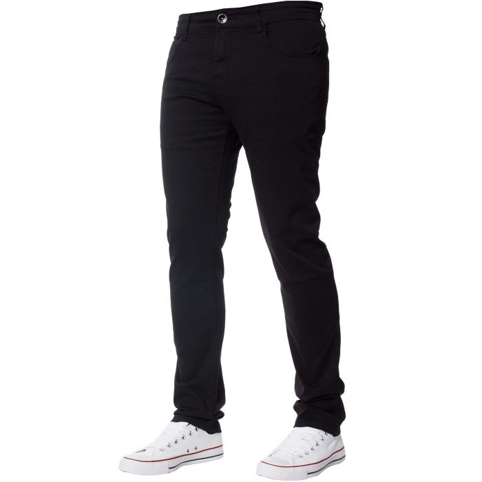 Image for Men's Black Slim Fit Chinos
