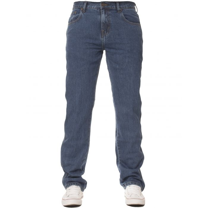 Image for Basic regular blue jeans