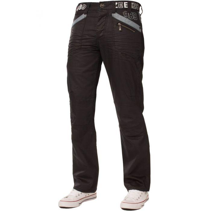 Image for Mens   Black Coated Denim  Jeans | Enzo Designer Menswear
