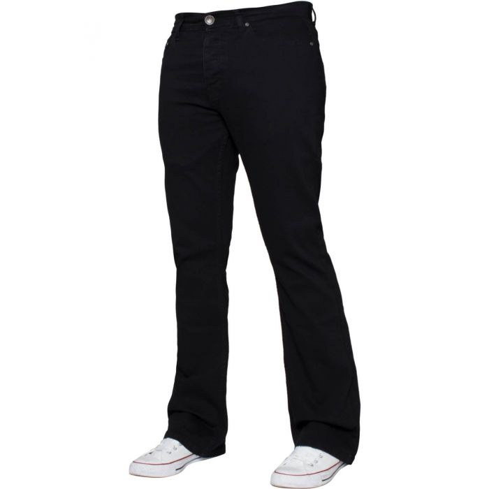 Image for Black bootcut jeans