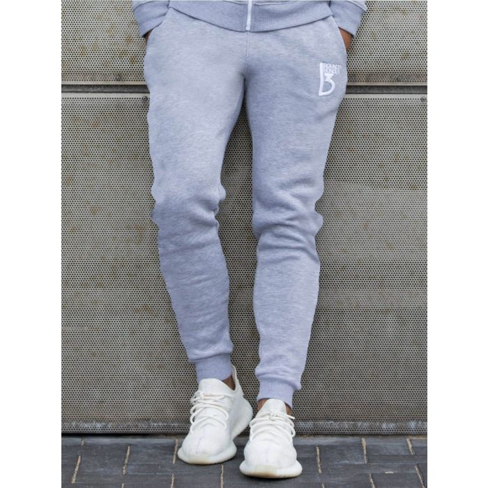 Image for Radiate grey cotton blend joggers