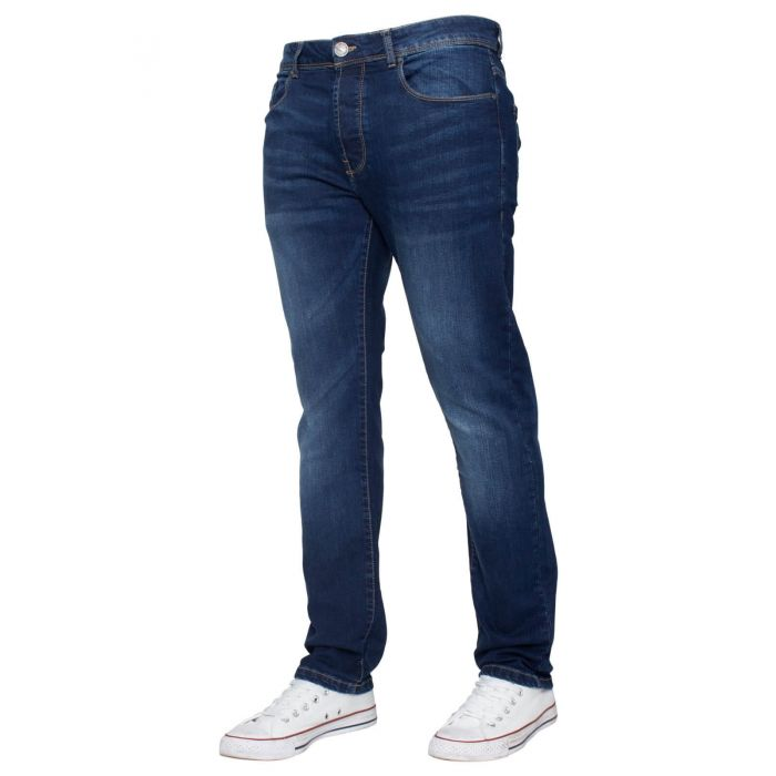 Image for Mens Slim Stretch  Denim Jeans | Enzo Designer Menswear