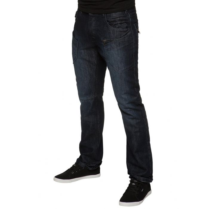 Image for Straight Leg Jeans With Exposed Zip Design
