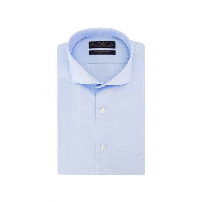 Image for Blue Classic Slim Fit Shirt
