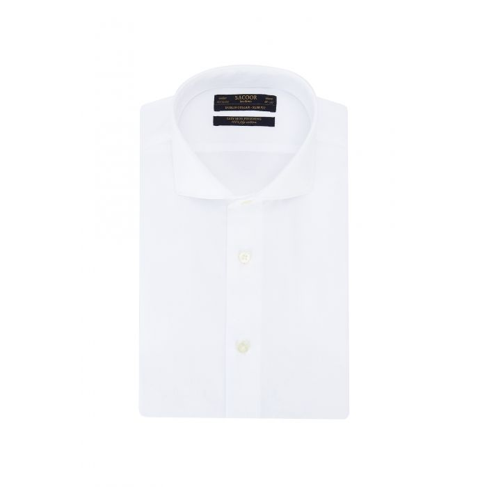 Image for White Classic Regular Fit Shirt