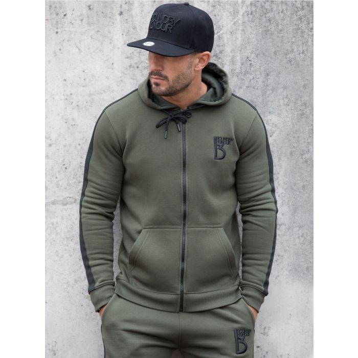 Image for Scale zipped tracksuit hoodie