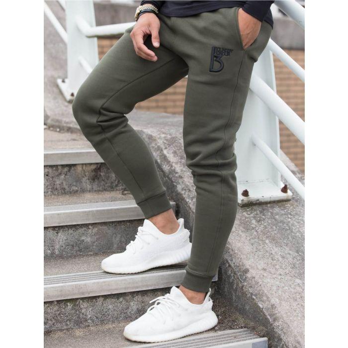 Image for Radiate khaki cotton blend joggers