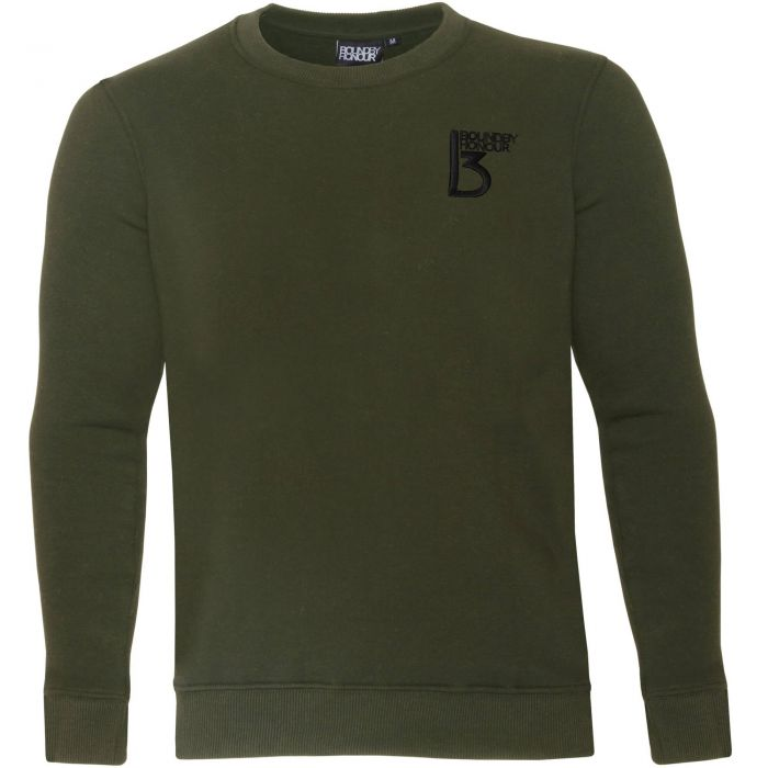 Image for Khaki crew neck casual sweatshirt