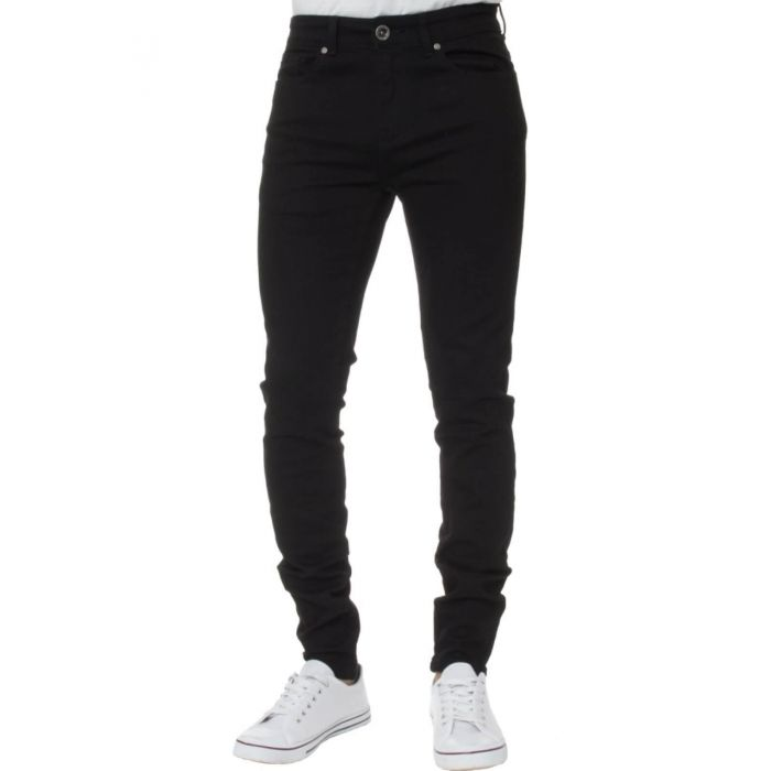 Image for Black super skinny stretch jeans
