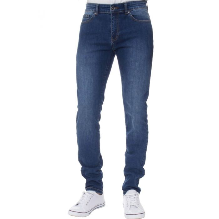 Image for Blue super skinny stretch jeans