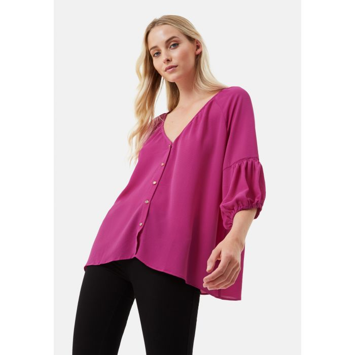 Image for Dolores 3/4 Sleeve Shirt in Purple