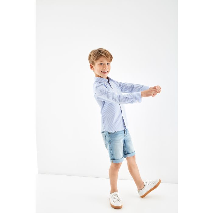 Image for Boys  Striped Cotton Sports Shirt