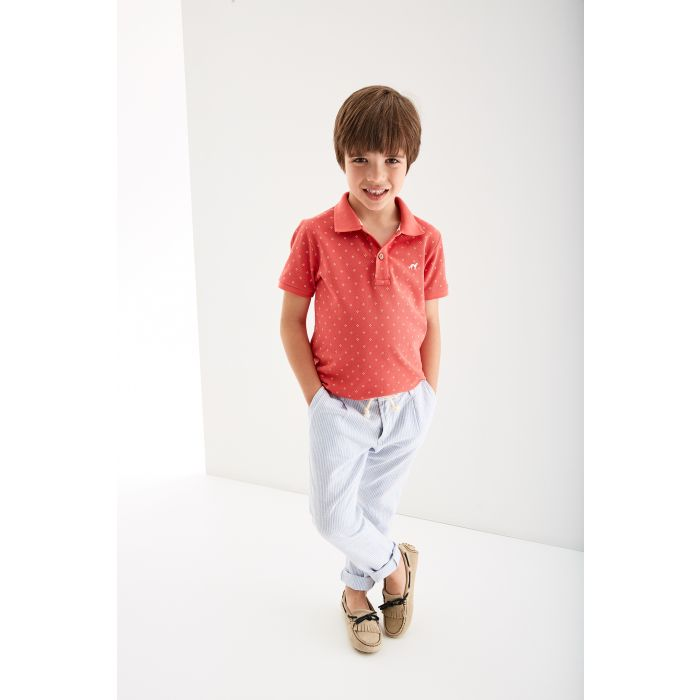 Image for Boys  Patterned Piquet Polo