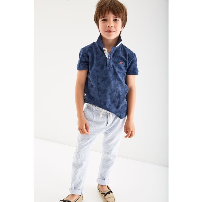 Image for Boys  Palm Trees Piquet Polo