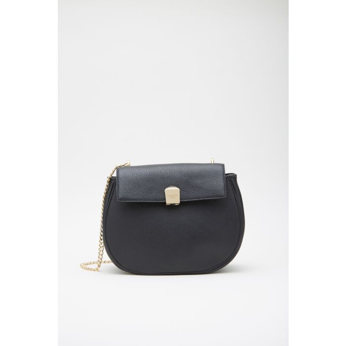 Image for Womens black leather crossbody