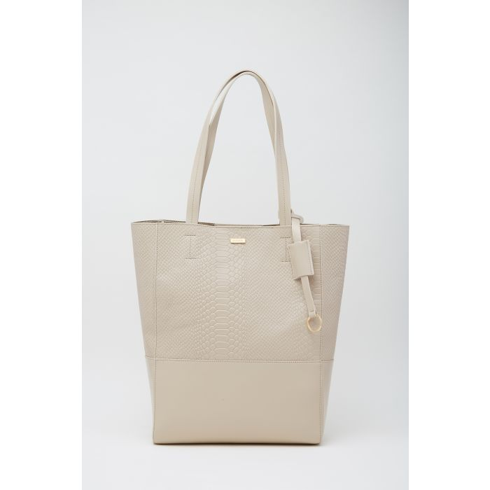 Image for Womens beige shopper