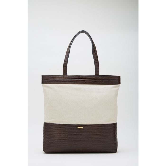 Image for Womens brown shopper