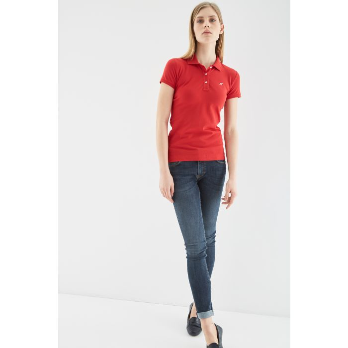 Image for Womens Basic Piquet Polo