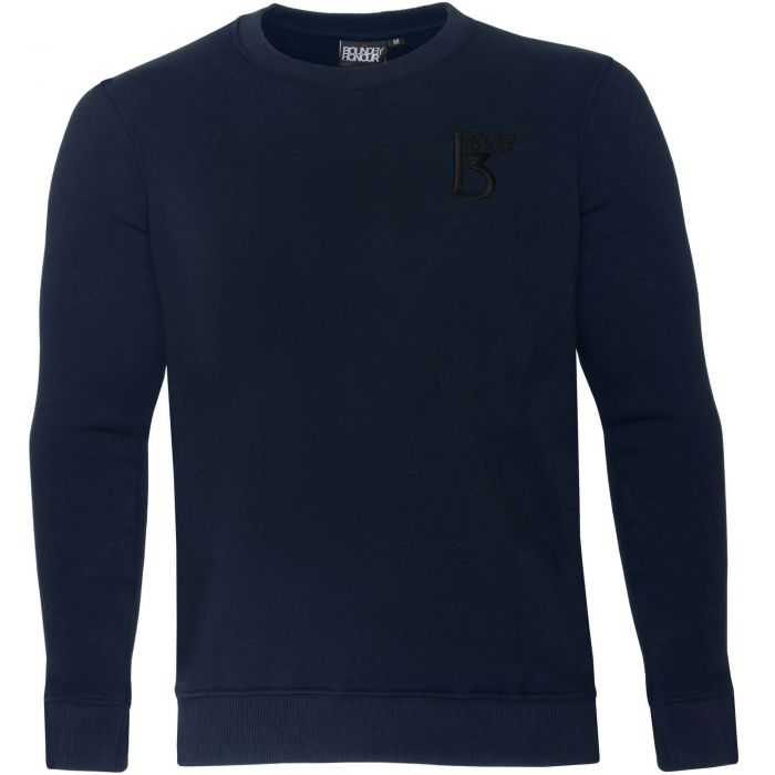 Image for Navy crew neck casual sweatshirt