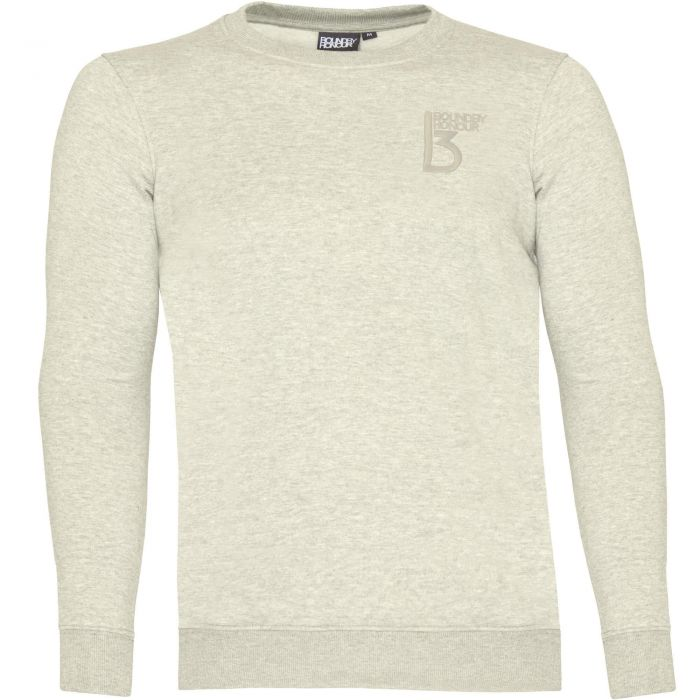 Image for Oatmeal crew neck casual sweatshirt