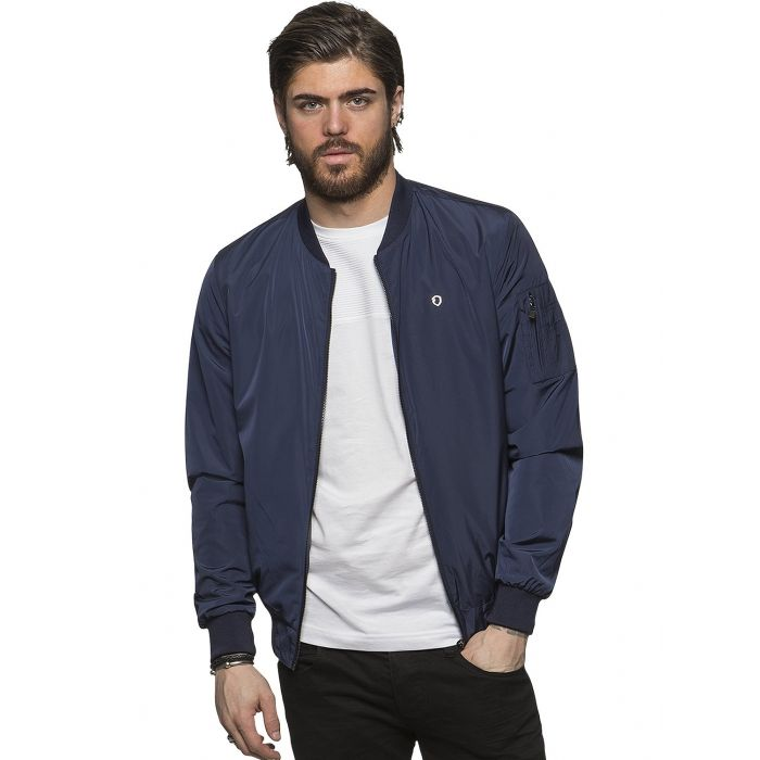 Image for ETO | Mens Designer Move Navy Jacket