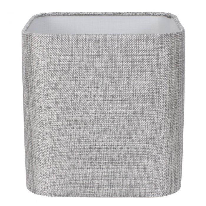 Image for Linen 25cm Shade Silver