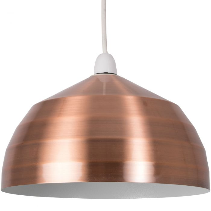 Image for Gabriel Pendant Light Shade Copper