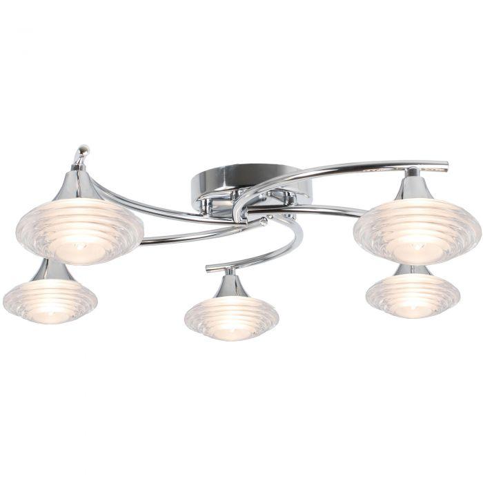 Image for Conner 5 Light Semi Flush Ceiling Light